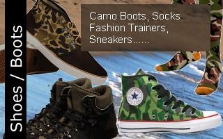 Camo Footwear